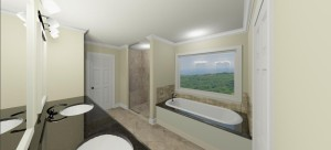 Rosemore Master Bath
